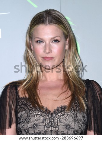 "LOS ANGELES - MAY 09:  Ali Larter arrives to the Aviva Family and Children's Services celebrates its 100th Anniversary with The ""A"" Gala  on May 09, 2015 in Hollywood, CA                 - stock photo"