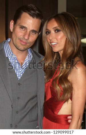 LOS ANGELES - MAY 22:  Bill Rancic, Giuliana Rancic at the 37th Annual Gracie Awards Gala at Beverly Hilton Hotel on May 22, 2012 in Beverly Hills, CA. - stock photo