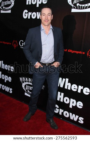 "LOS ANGELES - MAY 3:  Chris Klein at the ""Where Hope Grows"" Los Angeles Premiere at the ArcLight Hollywood Theaters on May 3, 2015 in Los Angeles, CA - stock photo"