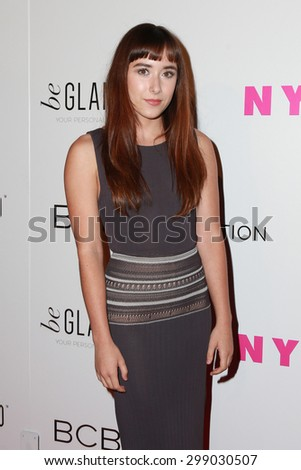 LOS ANGELES - MAY 7:  Christina Scherer at the NYLON Magazine Young Hollywood Issue Party  at the HYDE Sunset on May 7, 2015 in West Hollywood, CA - stock photo