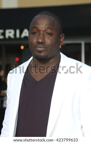 LOS ANGELES - MAY 20:  Hannibal Buress at the Neighbors 2: Sorority Rising American Premiere at Village Theater on May 20, 2016 in Westwood, CA - stock photo