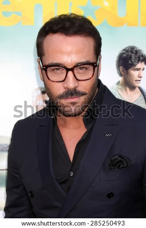"""LOS ANGELES - MAY 27:  Jeremy Piven at the """"Entourage"""" Movie Premiere at the Village Theater on May 27, 2015 in Westwood, CA - stock photo"""