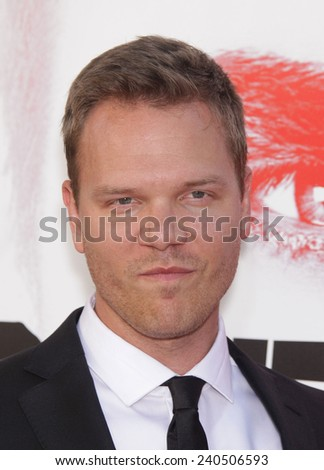 """LOS ANGELES - MAY 30:  JIM PARRACK arrives to """"True Blood"""" Season 5 Premiere  on May 30, 2012 in Hollywood, CA                 - stock photo"""
