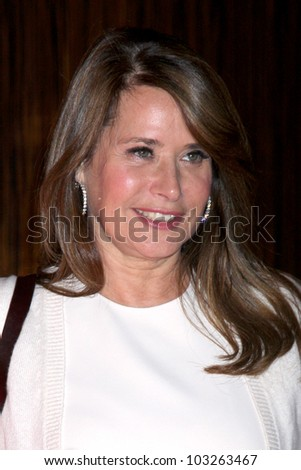LOS ANGELES - MAY 22:  Lorraine Bracco arrives at the 37th Annual Gracie Awards Gala at Beverly Hilton Hotel on May 22, 2012 in Beverly Hllls, CA - stock photo