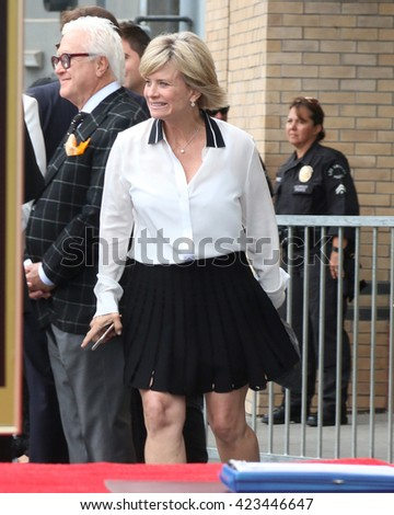 LOS ANGELES - MAY 19:  Mary Beth Evans at the Deidre Hall Hollywood Walk of Fame Ceremony at the Hollywood Blvd. on May 19, 2016 in Los Angeles, CA - stock photo