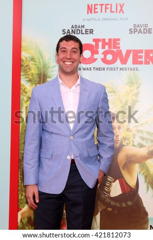 LOS ANGELES - MAY 16:  Max Kessler at the The Do-Over Premiere Screening at the Regal 14 Theaters on May 16, 2016 in Los Angeles, CA - stock photo