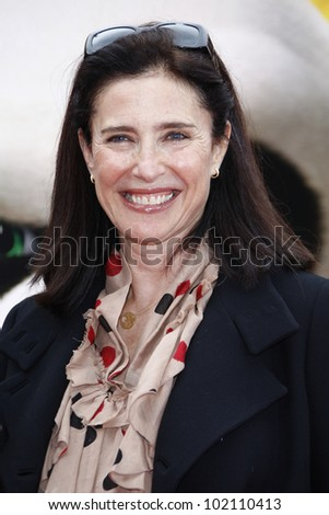 LOS ANGELES - MAY 22:  Mimi Rogers at the premiere of Kung Fu Panda 2 at the Grauman's Chinese Theater in Los Angeles, California on May 22, 2011. - stock photo