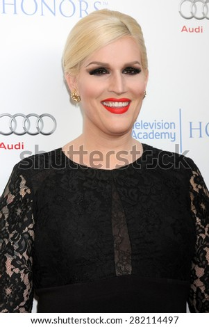 LOS ANGELES - MAY 27:  Our Lady J at the 8th Annual Television Academy Honors - Arrivals at the Montage Hotel on May 27, 2015 in Beverly Hills, CA - stock photo
