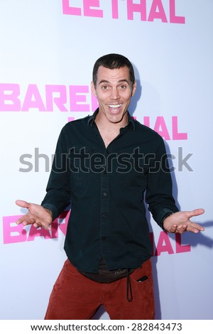 "LOS ANGELES - MAY 27:  Steve-O at the ""Barely Lethal"" Los Angeles Screening at the ArcLight Hollywood Theaters on May 27, 2015 in Los Angeles, CA - stock photo"