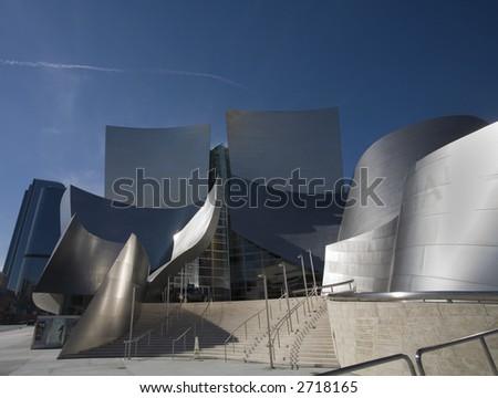 Los Angeles Music Center Buildings - stock photo