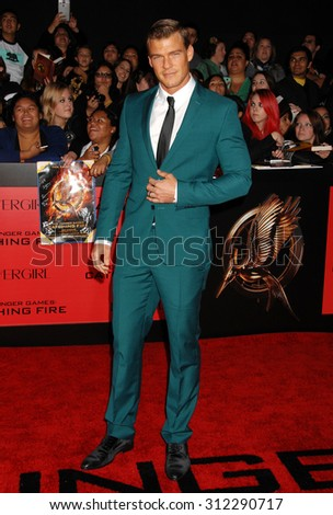 LOS ANGELES - NOV 18:  Alan Ritchman arrives at the The Hunger Games Catching Fire US Premiere  on November 18, 2013 in Los Angeles, CA                 - stock photo
