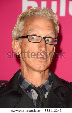 LOS ANGELES - NOV 10:  Andy Dick at the T-Mobile Un-carrier X Launch Celebration at the Shrine Auditorium on November 10, 2015 in Los Angeles, CA - stock photo