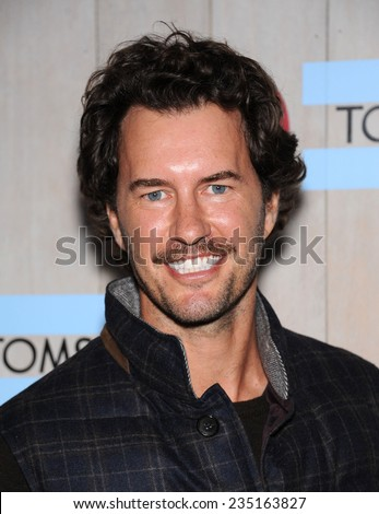 LOS ANGELES - NOV 12:  Blake Mycoskie arrives to the TOMS for Target Partnership Celebration on November 12, 2014 in Culver City, CA                 - stock photo
