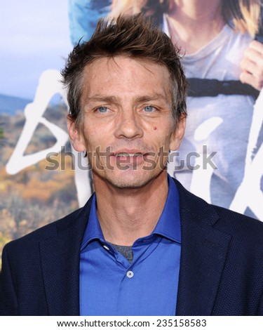 """LOS ANGELES - NOV 19:  Charles Baker arrives to the """"Wild"""" Los Angeles Premiere on November 19, 2014 in Beverly Hills, CA                 - stock photo"""
