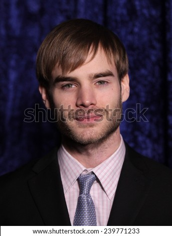 """LOS ANGELES - NOV 22:  DAVID GALLAGHER arrives to the """"Super 8"""" DVD Launch  on November 22, 2011 in Beverly Hills, CA                 - stock photo"""