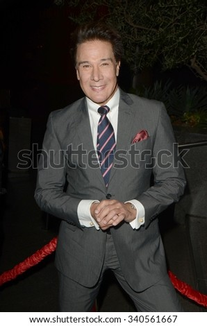 """LOS ANGELES - NOV 17:  Fernando Allende at the """"Youth"""" LA Premiere at the Directors Guild of America Theater on November 17, 2015 in Los Angeles, CA - stock photo"""