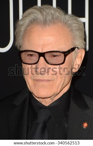 """LOS ANGELES - NOV 17:  Harvey Keitel at the """"Youth"""" LA Premiere at the Directors Guild of America Theater on November 17, 2015 in Los Angeles, CA - stock photo"""