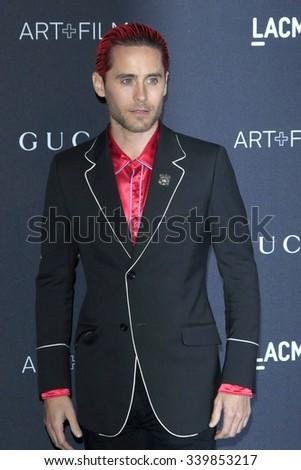 LOS ANGELES - NOV 7:  Jared Leto at the LACMA Art + Film Gala at the  LACMA on November 7, 2015 in Los Angeles, CA - stock photo