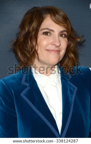 "LOS ANGELES - NOV 9:  Jill Soloway at the ""Transparent"" Season Two Red Carpet Premiere at the Pacific Design Center on November 9, 2015 in West Hollywood, CA - stock photo"
