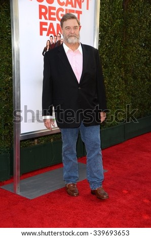 """LOS ANGELES - NOV 12:  John Goodman at the """"Love the Coopers"""" Los Angeles Premiere at the The Grove on November 12, 2015 in Los Angeles, CA - stock photo"""
