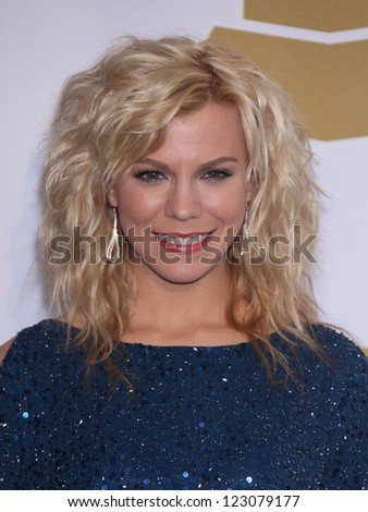 LOS ANGELES - NOV 30:  KIMBERLY PERRY arrives to the Grammy Nominations Concert Live 2011  on November 30, 2011 in Los Angeles, CA - stock photo