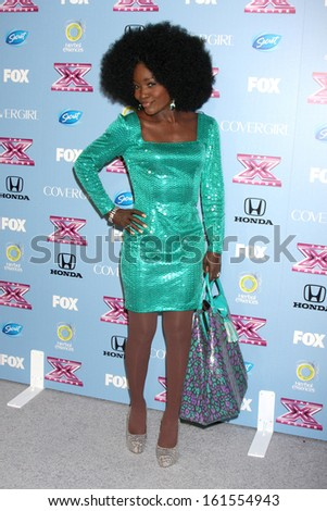 "LOS ANGELES - NOV 4:  Lillie McCloud at the 2013 ""X Factor"" Top 12 Party  at SLS Hotel on November 4, 2013 in Beverly Hills, CA - stock photo"