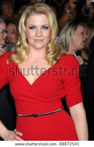 "LOS ANGELES - NOV 14:  Melissa Joan Hart arrives at the ""Twilight: Breaking Dawn Part 1"" World Premiere at Nokia Theater at LA LIve on November 14, 2011 in Los Angeles, CA - stock photo"