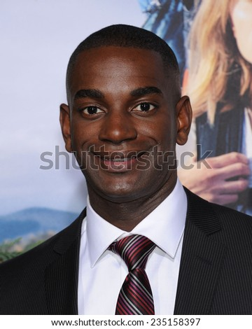 "LOS ANGELES - NOV 19:  Mo McRae arrives to the ""Wild"" Los Angeles Premiere on November 19, 2014 in Beverly Hills, CA                 - stock photo"