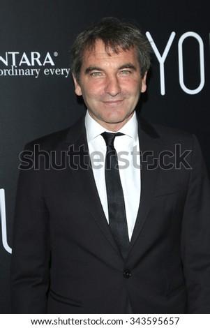 "LOS ANGELES - NOV 17:  Nicola Giuliano at the ""Youth"" LA Premiere at the Directors Guild of America on November 17, 2015 in Los Angeles, CA - stock photo"