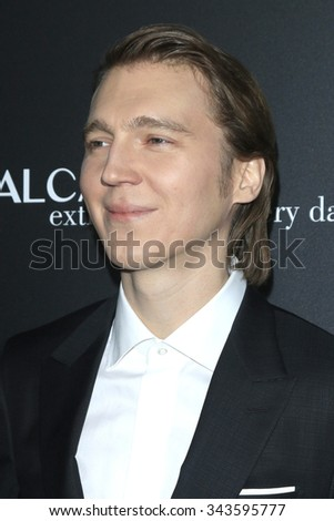 """LOS ANGELES - NOV 17:  Paul Dano at the """"Youth"""" LA Premiere at the Directors Guild of America on November 17, 2015 in Los Angeles, CA - stock photo"""
