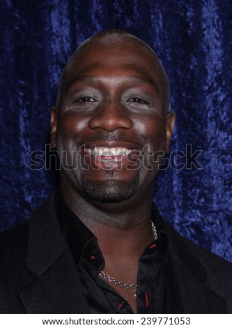 """LOS ANGELES - NOV 22:  RICHARD T. JONES arrives to the """"Super 8"""" DVD Launch  on November 22, 2011 in Beverly Hills, CA                 - stock photo"""