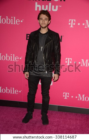 LOS ANGELES - NOV 10:  ZEDD at the T-Mobile Un-carrier X Launch Celebration at the Shrine Auditorium on November 10, 2015 in Los Angeles, CA - stock photo