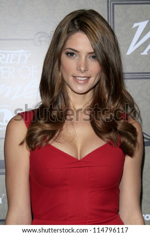 LOS ANGELES - OCT 5:  Ashley Greene arrives at the Variety's 4th Annual Power Of Women Event at Beverly Wilshire Hotel on October 5, 2012 in Beverly Hills, CA - stock photo