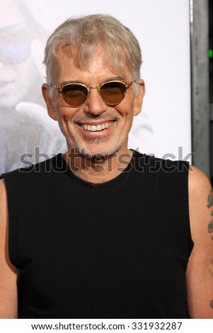 "LOS ANGELES - OCT 26:  Billy Bob Thornton at the ""Our Brand is Crisis"" LA Premiere at the TCL Chinese Theater on October 26, 2015 in Los Angeles, CA - stock photo"