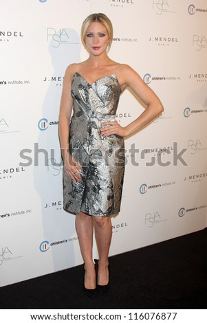 LOS ANGELES - OCT 17:  Brittany Snow arrives at  3rd Annual Autumn Party with designer J Mendel at The London West Hollywood on October 17, 2012 in West Hollywood, CA - stock photo