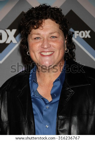 LOS ANGELES - OCT 4:  Dot Marie Jones arrives at the 2013 FOX Winter TCA All Star Party  on January 8, 2013 in Pasadena, CA              - stock photo