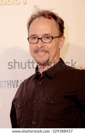 """LOS ANGELES- OCT 17: Jeff King arrives at the """"Death Valley"""" film premiere Oct. 17, 2015 at Raleigh Studios in Los Angeles, CA. - stock photo"""