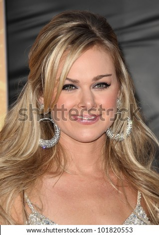 LOS ANGELES - OCT 06:  Laura Bell Bundy arrives to the American Country Awards 2010  on October 06, 2010 in Las Vegas, NV. - stock photo