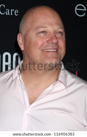 "LOS ANGELES - OCT 26:  Michael Chiklis arrives at ""The Pink Party '12"" at Hanger 8 on October 26, 2012 in Santa Monica, CA - stock photo"