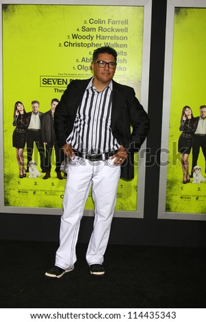 "LOS ANGELES - OCT 30:  Nicholas Turturro  at the ""Seven Psychopaths"" Premiere at Bruin Theater on October 30, 2012 in Westwood, CA - stock photo"