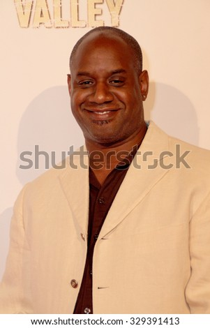 """LOS ANGELES- OCT 17: Robert Hayes arrives at the """"Death Valley"""" film premiere Oct. 17, 2015 at Raleigh Studios in Los Angeles, CA. - stock photo"""