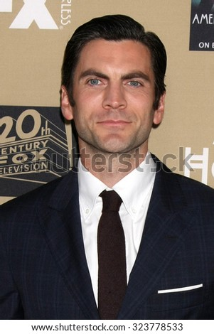 "LOS ANGELES - OCT 3:  Wes Bentley at the ""American Horror Story: Hotel"" Premiere Screening at the Regal 14 Theaters on October 3, 2015 in Los Angeles, CA - stock photo"