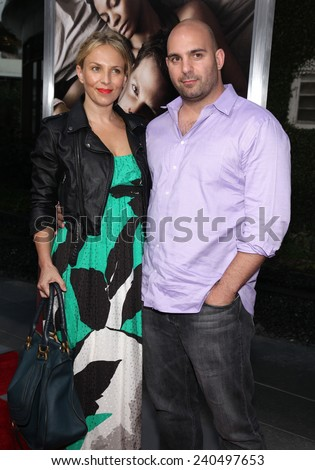 "LOS ANGELES - SEP 12:  Ahmet Zappa & Shana Muldoon arrives to the ""The Words"" Premiere  on September 12, 2012 in Hollywood, CA                 - stock photo"