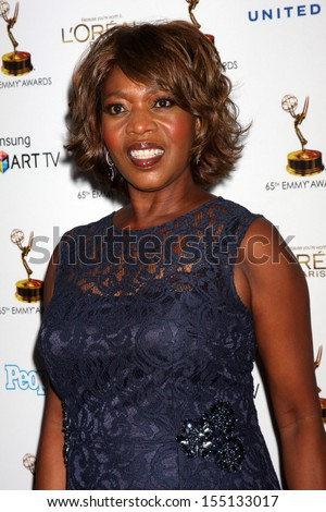 LOS ANGELES - SEP 20:  Alfre Woodard at the Emmys Performers Nominee Reception at  Pacific Design Center on September 20, 2013 in West Hollywood, CA - stock photo