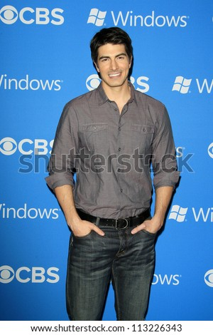 LOS ANGELES - SEP 18: Brandon Routh at the CBS 2012 Fall Premiere party at Greystone Manor on September 18, 2012 in Los Angeles, California - stock photo