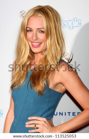 LOS ANGELES - SEP 21:  Cat Deeley arrives at the Primetime Emmys Performers Nominee Reception at Spectra by Wolfgang Puck on September 21, 2012 in Los Angeles, CA - stock photo