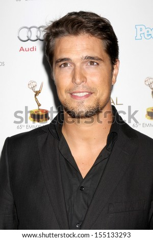 LOS ANGELES - SEP 20:  Diogo Morgado at the Emmys Performers Nominee Reception at  Pacific Design Center on September 20, 2013 in West Hollywood, CA - stock photo
