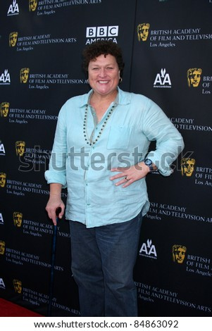 LOS ANGELES - SEP 17:  Dot Marie Jones arrives at the 9th Annual BAFTA Los Angeles TV Tea Party. at L'Ermitage Beverly Hills Hotel on September 17, 2011 in Beverly Hills, CA - stock photo