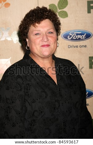 LOS ANGELES - SEP 12:  Dot Marie Jones arriving at the 7th Annual Fox Fall Eco-Casino Party at The Bookbindery on September 12, 2011 in Culver City, CA - stock photo