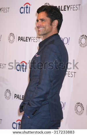 LOS ANGELES - SEP 15:  John Stamos at the PaleyFest 2015 Fall TV Preview - FOX at the Paley Center For Media on September 15, 2015 in Beverly Hills, CA - stock photo
